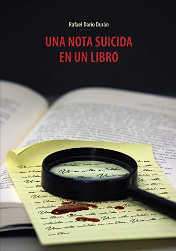 Una nota suicida en un libro