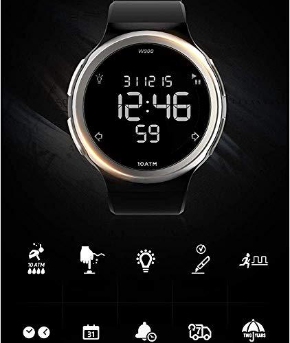 Armbanduhr Smartwatch Mechanische Uhren Saphiruhr Quarzuhr mit Elektronischer Multifunktionsuhr Herrenuhr Wasserdicht Sportuhr Damenuhr Intelligent Special Forces Run Number, MZ, ein