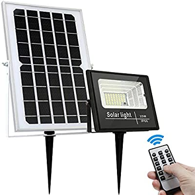 Solar Floodlight Outdoor 1000 Lumens IP66 Waterproof with Sensor Auto On Off for Dusk to Dawn Pathway Entry and Driveway by GEN Solar