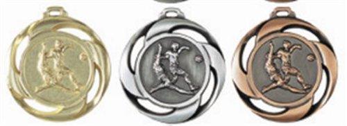 S.B.J - Sportland Medaille Fussball Gold