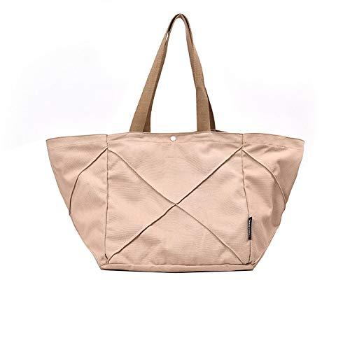 HELUNM Bolso grande2019nuevo bolso de lona, bolso medio del bolso de lona, bolso de asas del bolso del estudiante