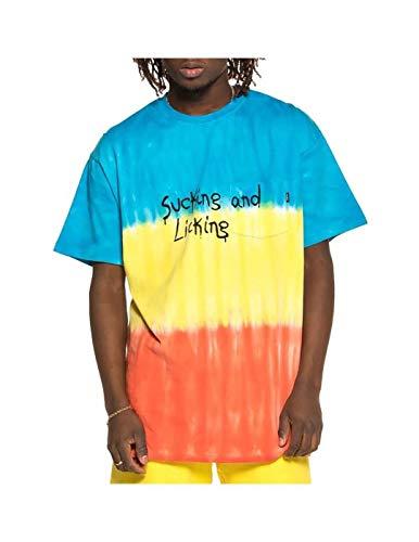 GRIMEY Camiseta Laughing Boy tee SS19 Blue-M