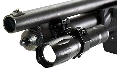 Trinity 1000 lumen hunting light for remington model 870 12ga pump hunting optics tactical security home defense accessory single rail mount