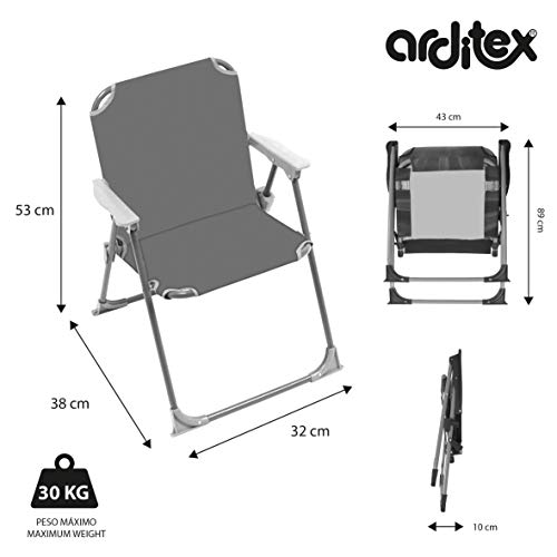 ARDITEX Sillas plegables