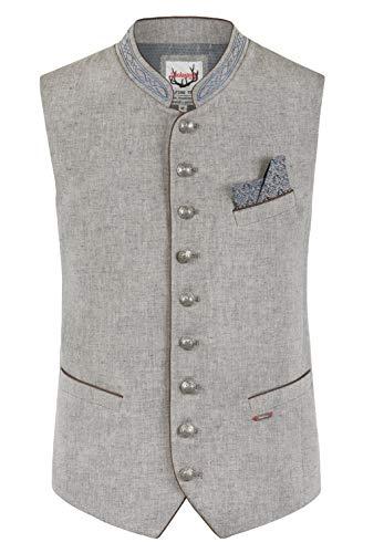 Stockerpoint Herren Ravon Business-Anzug Weste, grau-blau, 48