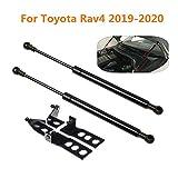 Pair Car Front Engine Cover Bonnet Gas Spring Shocks Struts Bars Damper Hood Lift Supports Rods Set,For Toyota RAV4 2019 2020