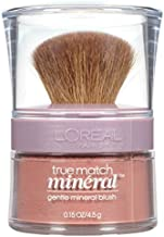 L'Oreal Paris True Match Gentle Mineral Blush, Bare Honey [492] 0.15 oz (Pack of 2)