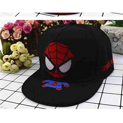 HUOQILIN nieuwe lente en zomer hoed baby jongens en meisjes karikatuur Spider-man hip-hop cap baseballpet reis