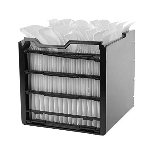 ZJL220 32 piezas de papel de filtro USB de escritorio de aire acondicionado ventilador de núcleo de filtrado de humectación