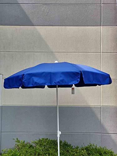 Jimmys Textilfactory Hochwertiger Zangenberg Sonnenschirm Gartenschirm knickbar Bundle + Strandtresor UV-Schutz Urlaub Reisezubehör SafeToGo Husum, Farbe:Sonnenschirm einzeln