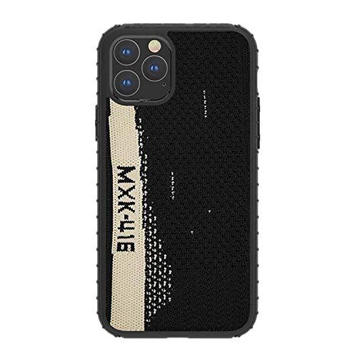 voor Apple iPhone XR Telefoonhoes, Yeezy 350 Sneakers Materiaal Beschermende Gebreide Sport Cover Stof Zachte Anti-Slip Beschermende Cover