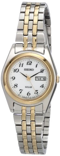Seiko Women's SUT116 Stainless Steel Two-Tone Watch