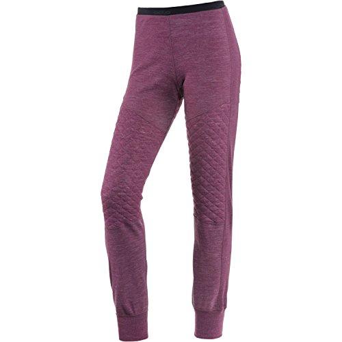 Odlo Revolution TW X-Warm Pantalon pour Femme L Magenta Purple Melange