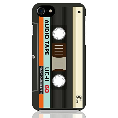 ブレインズ iPhone SE 2020 iPhone8 iPhone7 ハード ケース カバー カセットテープ mod 01A カセット テープ レトロ 70's 80's ファッション