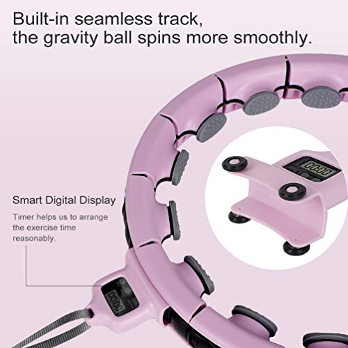 Opard-Weighted-Hula-Smart-Hoops-for-Adults-2-in-1-Fitness-Massage-with-Smart-Timer-Hoops-for-Beginners-Children-Kids-Men-and-Women