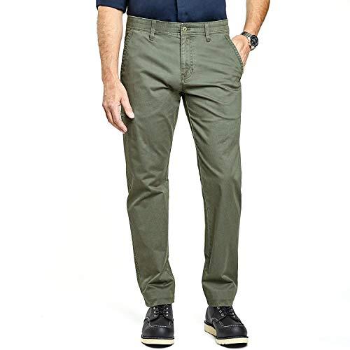 Weatherproof Zip 5-Pocket Utility Pant - Military Green 36W x 30L