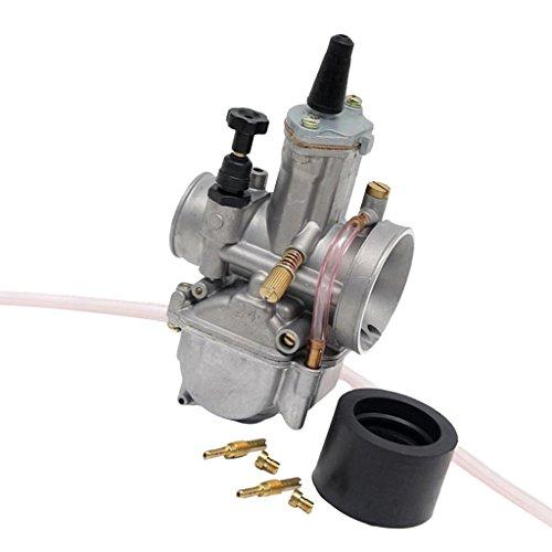 Sharplace Carburador Universal 24mm para Moto Scooter ATV UTV 50-200CC