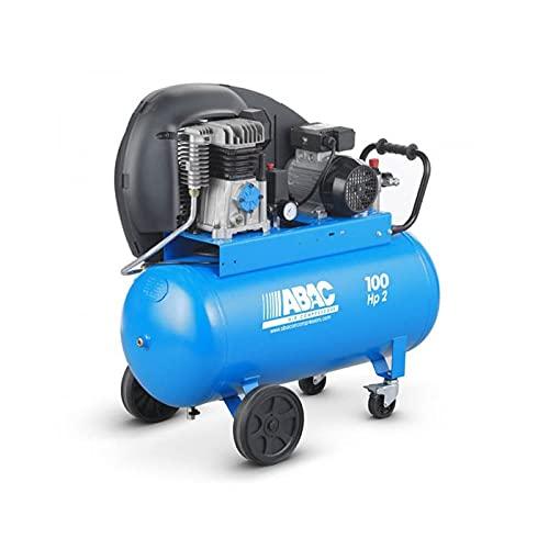 ABAC PRO A29B 100 CM2 COMPRESSORE PROFESSIONALE - 100L ARIA COMPRESSA MOTORE 2HP