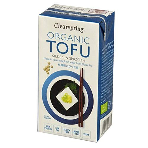 Clearspring Organic Long Life Tofu 300g (Pack of 12)