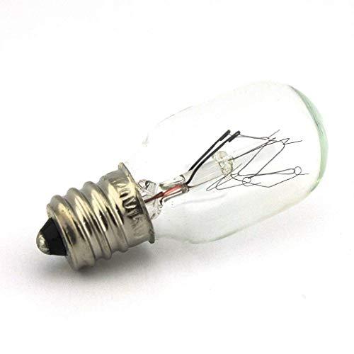 NGOSEW 2 Clear Light Bulbs Screw in for Janome 2014, 2015, 2018, 2022, 2030, 3015, 352, MC5500, MC7000, MC7500, 6019QC, 634D, 640, 641, SR2000, SR2100, SX2122