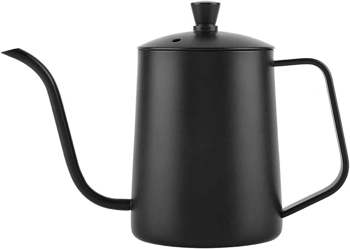 Charlotte Mall Coffee Pot with Gooseneck 550 Ml Coff Stainless Steel Pour Over Quality inspection