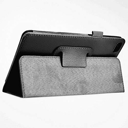 PU Lederhülle Shell Protector Bag Cover Hülle für Lenovo Tab E7 TB-7104F 7 Zoll Tablet-LZ E7 7104 HEI