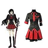 Anime Blood-C Kisaragi Saya Cosplay Uniforme Disfraz Halloween High School Uniforme Conjunto de Vestido para niñas Mujeres