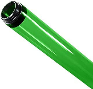48 in. - T8 - Green - Tube Guard with End Caps - Colored Plastic Lamp Sleeve - American PLAS-100210