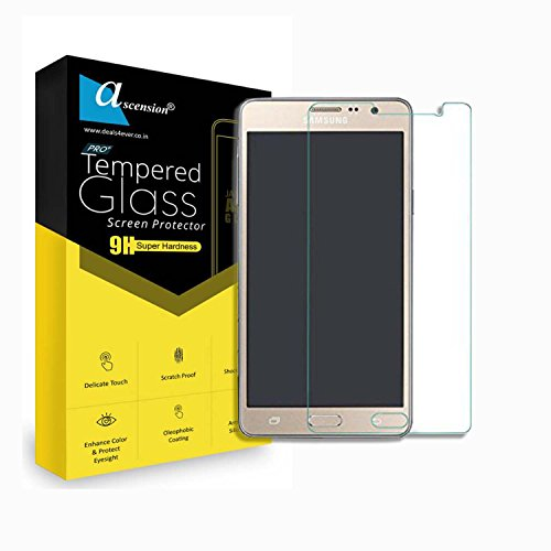 Ascension ® Curve Tempered for Samsung Galaxy On5 Pro Gorilla Glass Screen Protector High Premium Quality 9H Hard 2.5D Ultra Clear Transparent