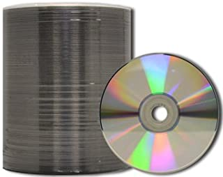 MediaPro Blank DVD - Professional Grade Silver Thermal Lacquer DVD-R - 100 Pack
