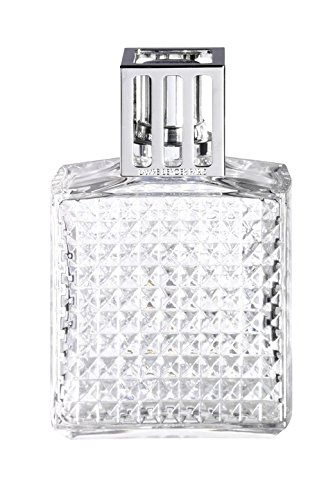 Lampe Berger 4472 Diamant Transparent Lampe à Parfum, Plastique, Transparent, 6 x 6 x 15 cm