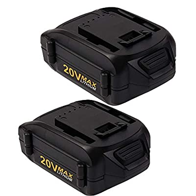 VINIDA 2 Pack 20V 4.0Ah WA3520 Replacement Lithium-ion Battery for Worx Cordless Power Tools Series WG151s, WG155s, WG251s, WG255s, WG540s, WG545s, WG890, WG891