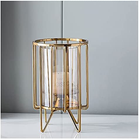 WAOUY Wrought Iron Candle Holder Tables,Clear Candlesticks for Max Max 83% OFF 90% OFF