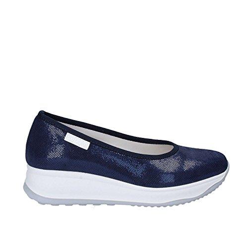 Rucoline 0136 83049 Ballerines Femmes Bleu 36
