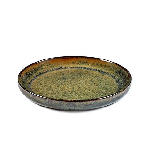 Assiette à olives M - Indi Grey - Ø 16 cm