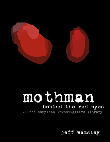 Title: Mothman Behind the Red Eyes