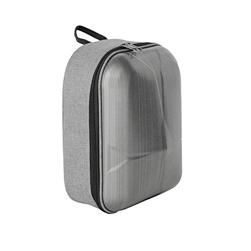 Flycoo Mini mochila impermeable práctica carcasa dura antigolpes maleta para DJI Mavic Pro / Mavic Pro Platinum Drone y mando a distancia y accesorios (Gray)
