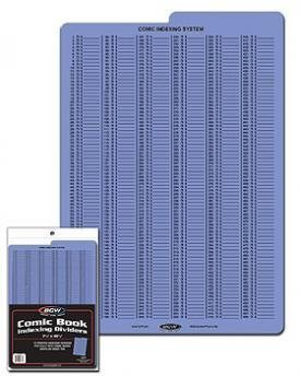 BCW Comic Book Index Dividers - (5 Pack) Comics, Comic Books Storage Collecting Supplies by BCW