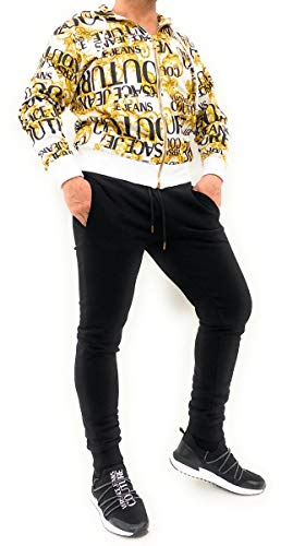 VERSACE JEANS COUTURE Baroque Print Zip Through Hoody