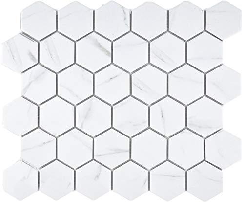 Wandfliese Weiß glänzend