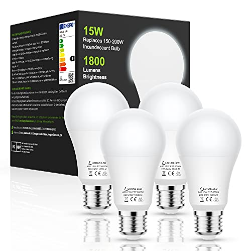 LOHAS-LED LH-QP101-E27-6000K-4