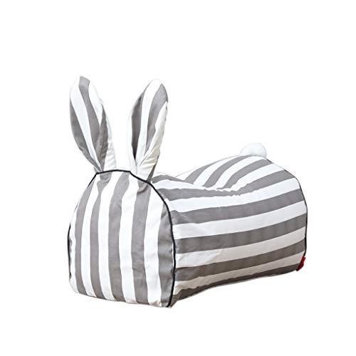 SD Grande Fauteuil/Forme De Lapin/Fauteuil Poire pour Enfant/Bean Bag Chaise/Toddler Bean Bag Chair/Confortable/Indoor Outdoor Bedroom Living Room Garden/48 * 30 * 50 cm
