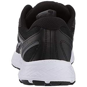 Saucony Women's Cohesion 13 Walking Shoe, Black/White, 8.5 M US