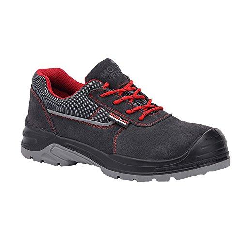 Paredes BETA GRIS PAREDES SM5061-GR/44 - Zapato seguridad gris. Puntera + plantilla Compact No metálica. Modelo BETA GRIS. Categoría S1P SRC - Talla 44
