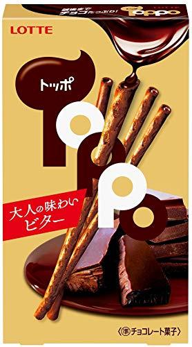 ロッテ トッポ<ビター> 2袋入×10個