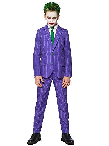 Generique - Costume Mr. Joker Bambino Suitmeister - 8 - 10 Anni (122 - 128 cm)