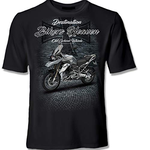 youtex R1200GS Bike Motorrad Bikers Heaven T-Shirt (XL)