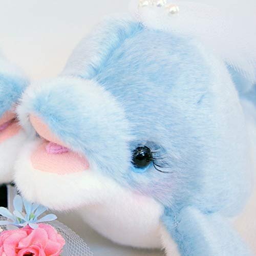 J.Dコーポレーション『イルカのウェルカムドール(完成品)結婚式ぬいぐるみ高砂受付装飾』
