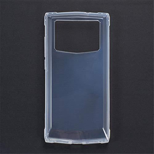 Oukitel K10000 Pro Schutzhülle, kratzfest, weiche TPU-Rückseite, stoßfest, Silikon-Gel-Gummi, stoßfest, schützt vor Fingerabdrücken, durchsichtig