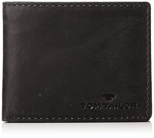 TOM TAILOR bags RON Herren Geldbörse one size, black, 10,5x1,5x8,5
